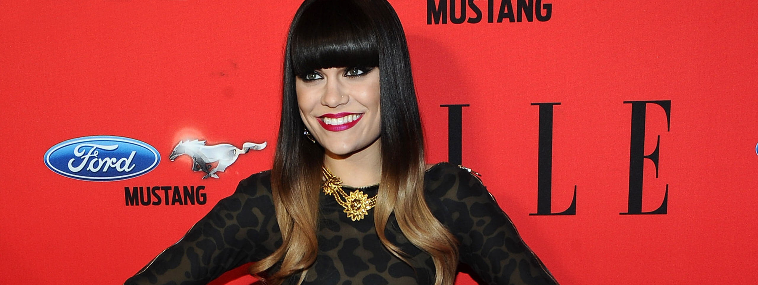 Jessie J colorazione two-tone trend