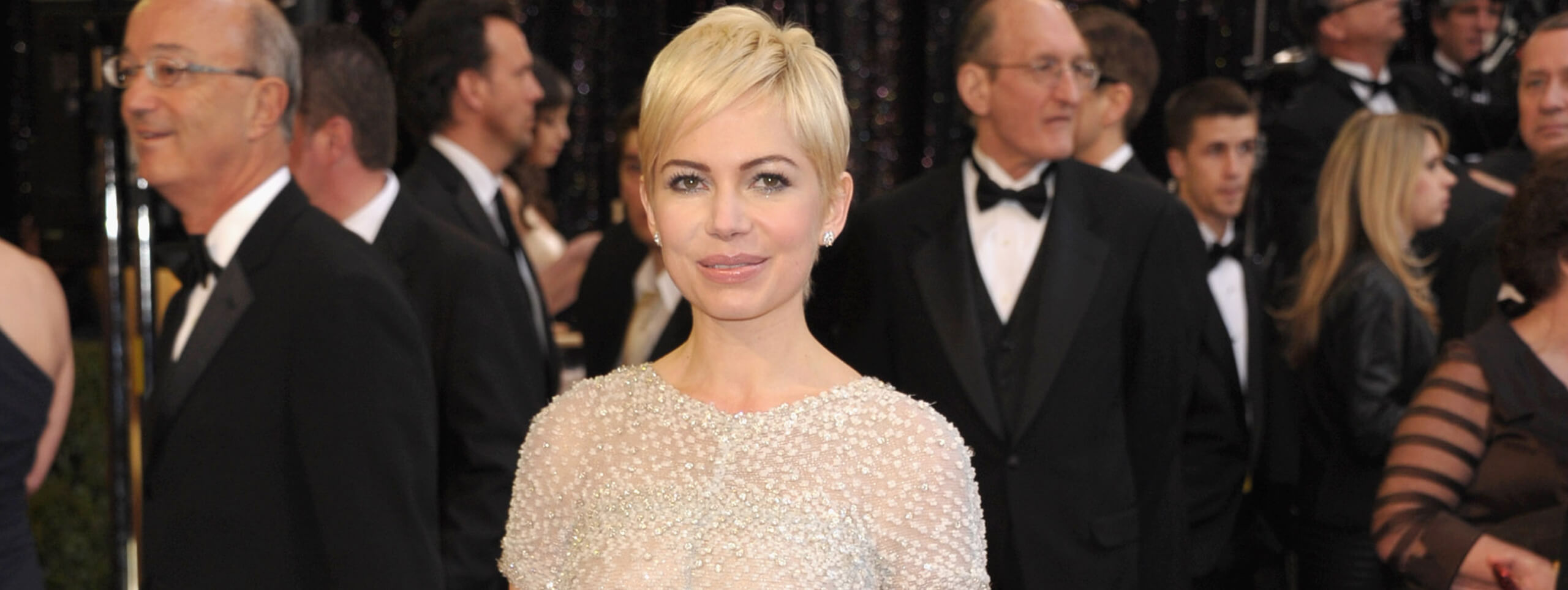Michelle Williams con acconciatura pixie cut
