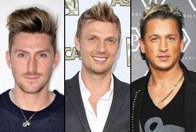 Henry Holland, Nick Carter e Philippe Mexes con colpi di sole bionde